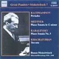 Great Pianists - Benno Moiseiwitsch Vol 7