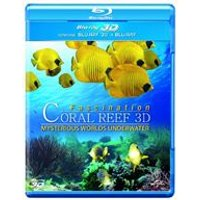 3D Coral Reef: Mysterious Worlds Underwater (Blu-ray 3D + Blu-ray)