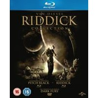 The Riddick Collection (Pitch Black/The Chronicles Of Riddick: Dark Fury/The Chronicles of Riddick) (Blu-ray)