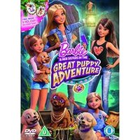 Barbie & Her Sisters in The Great Puppy Adventure (Includes Puppy Decorations) [Blu-ray] [2015] (Blu-ray)