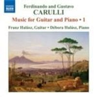 Carulli, F & G: Guitar and Piano Works, Vol 1 (Music CD)