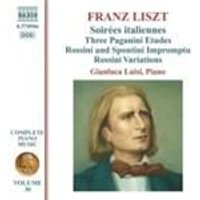 Liszt: Piano Music Vol. 30 (Music CD)