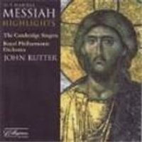 George Frideric Handel - Messiah [Highlights] (Rutter, RPO, Cambridge Singers) (Music CD)