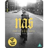 Nas: Time Is Illmatic - Limited Edition Dual Format Steelbook (Blu-ray + DVD)