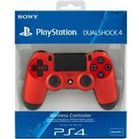 Sony PlayStation DualShock 4 Controller - Magma Red (PS4)