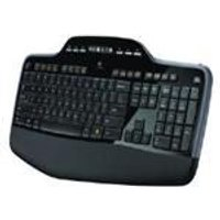 Logitech MK710 Wireless Desktop (Black) Keyboard and Mouse - UK English