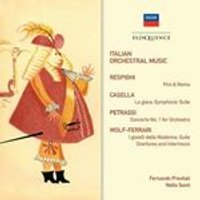 Italian Orchestral Music (Music CD)