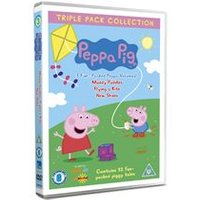 Peppa Pig - Muddy Puddles / Flying A Kite / New Shoes