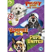 Dogs Triple (Pups United/Vampire Dog/Pudsey The Dog Movie)