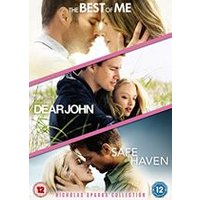 Nicholas Sparks Triple: Dear John/Safe Haven/The Best of Me