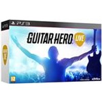 Guitar Hero Live with Guitar Controller (PS3)