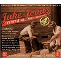 Various Artists - Juke Joints 4 (That's All Right With Me) (Music CD)