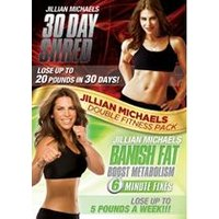 Jillian Michaels Double Fitness Pack: 30 Day Shred & Banish Fat Boost Metabolism