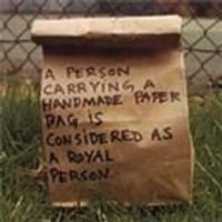 Bats & Mice - Person Carrying A Handmade Paper Bag Is Considered As A Royal Person, A