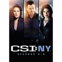 CSI: New York Season 4-6 Boxset
