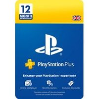 PlayStation Plus 12 Month Membership Card (PS3 + PS4)
