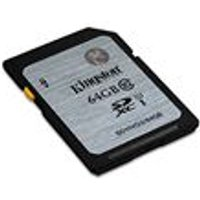 Kingston 64 GB SDHC Class 10 UHS-I Flash Card
