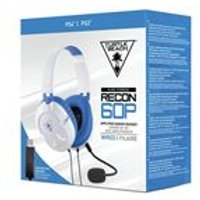 Turtle Beach Recon 60P Amplified Stereo Gaming Headset- White (PS4, PS4 Pro, Xbox One, Xbox One)