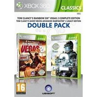Ubisoft Double Pack - Ghost Recon: Advanced Warfighter 2 / Tom Clancys Rainbow Six: Vegas 2 (Xbox 360)