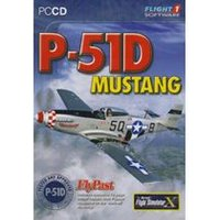 P51D Mustang - Add on for FSX (PC CD)