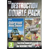 Destruction Double Pack - Underground Mining and Demolition Simulator (PC DVD)