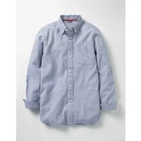 Oxford Shirt Howlin Blue Stripe Boys Boden, Howlin Blue Stripe
