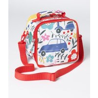 Printed Lunch Bag Blooming Traffic Girls Boden, Multi Traffic Jam