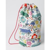 Printed Drawstring Bag Blooming Traffic Girls Boden, Multi Traffic Jam
