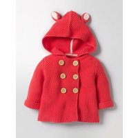 Fun Animal Knitted Jacket Jam Red Baby Boden, Jam Red
