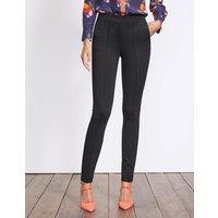 Hampshire Skinny Trousers Black Women Boden, Black