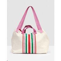 Capri Beach Bag Ivory Women Boden, Ivory