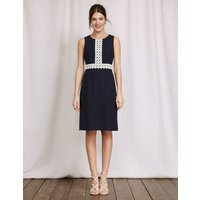 Lydia Lace Dress Navy Women Boden, Navy