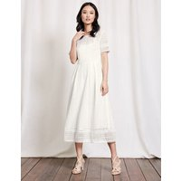 Althea Lace Dress Ivory Women Boden, Ivory