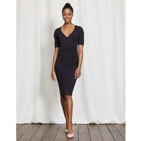 Ruth Jersey Dress Navy Women Boden, Navy