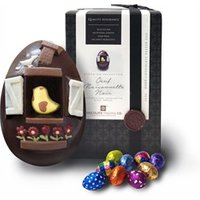 Oeuf Maisonnette, Dark chocolate Easter egg - Large Easter egg