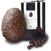 Oeuf amande, Dark chocolate Easter egg - Large Easter egg - Non sale