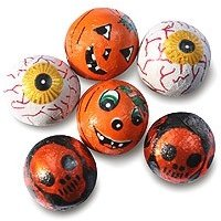 Halloween chocolate balls - Bulk bag of 620