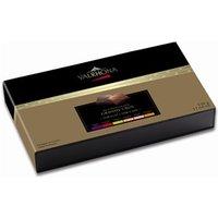 Valrhona Grands Crus Dark & Milk chocolate squares gift box 330g