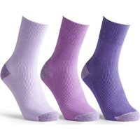 Cosyfeet Cotton-rich Softhold Lightweight Contrast Socks