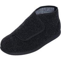Cosyfeet Robbie Single Slipper Brown - Left Foot