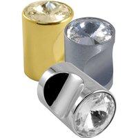 Swarovski Crystal Cylinder Cupboard Knob 20mm