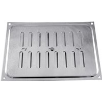 Chromed Hit and Miss Vent 210x152mm