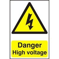 Notice Danger High Voltage