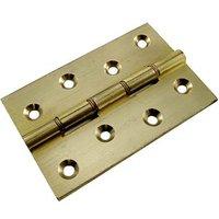 Brass Door Hinges Phosphor Bronze Washered 4x2.5/8in (102x67mm)