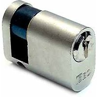 Iseo Single Oval Profile Key Cylinder Nickel 40mm