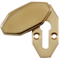 Art Deco Design Covered Keyhole Cover 40x20mm