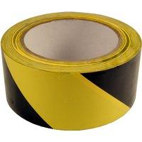 Adhesive Floor Marking Tape Yellow and Black 50mm