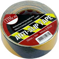 10M Roll of Black and Yellow Grip Tape