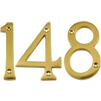 Heritage C1560 Brass Door Numerals 0-9 76mm