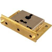 Brass Box Lock 64mm
